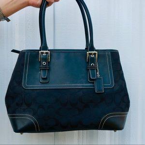 Black authentic Coach handbag